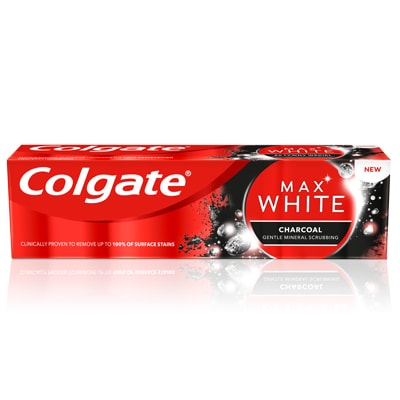 Zubní pasta Colgate Max White Charcoal Whitening 75 ml